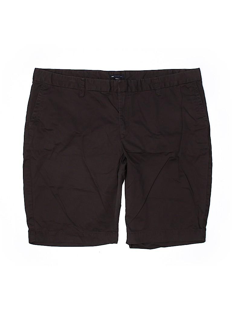 Gap Outlet Women Khaki Shorts Size 20 (Plus)