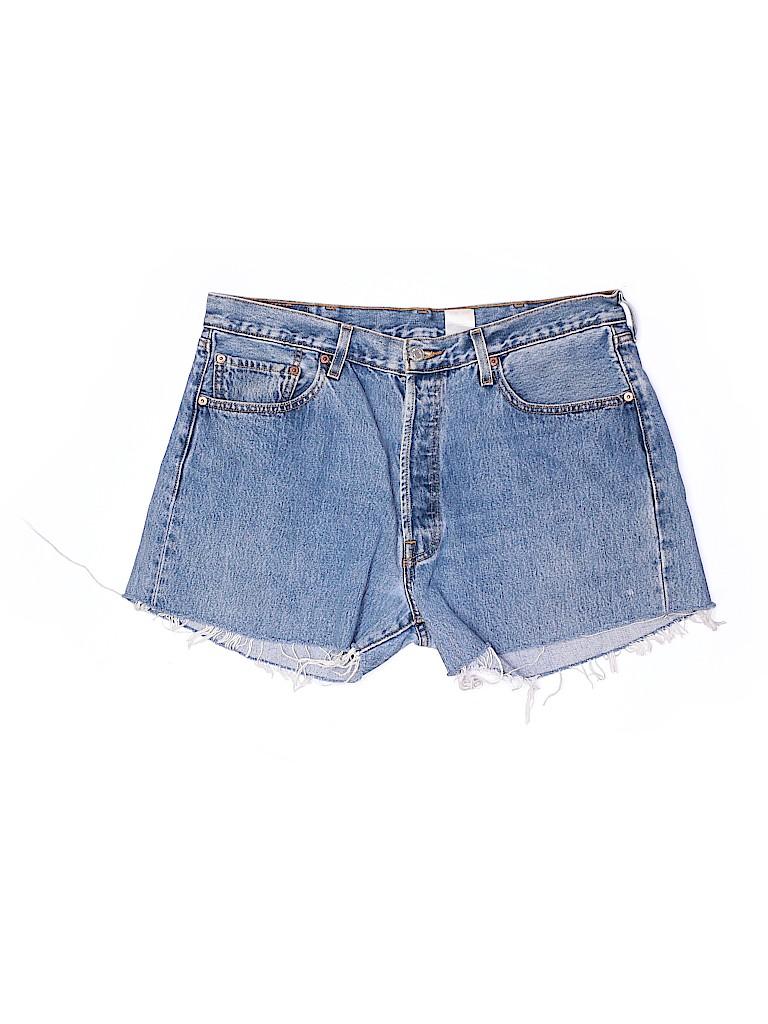 Levi's Women Denim Shorts Size 38
