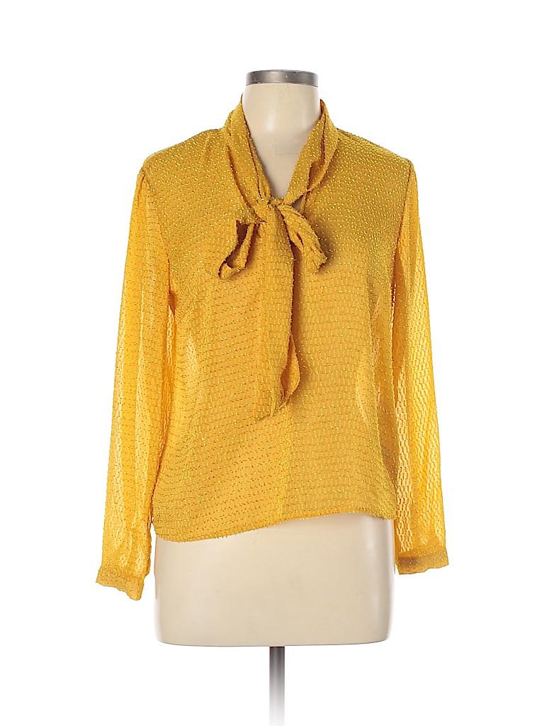 Y.A.S Women Long Sleeve Blouse Size M