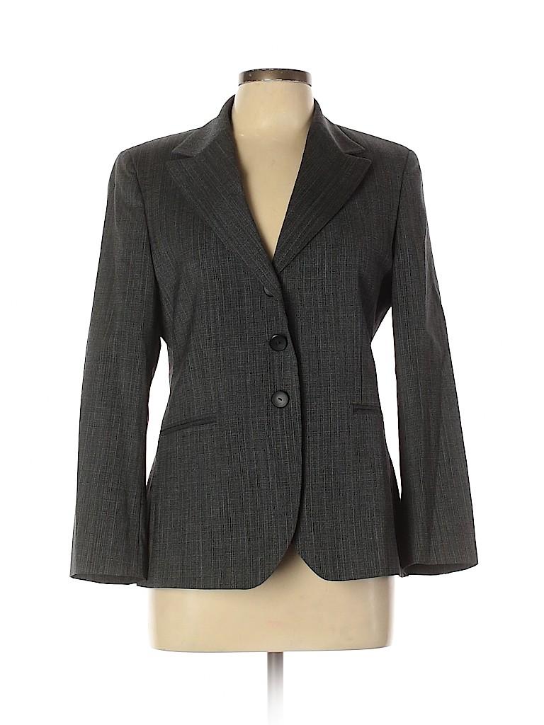 Zanella Women Wool Blazer Size 10