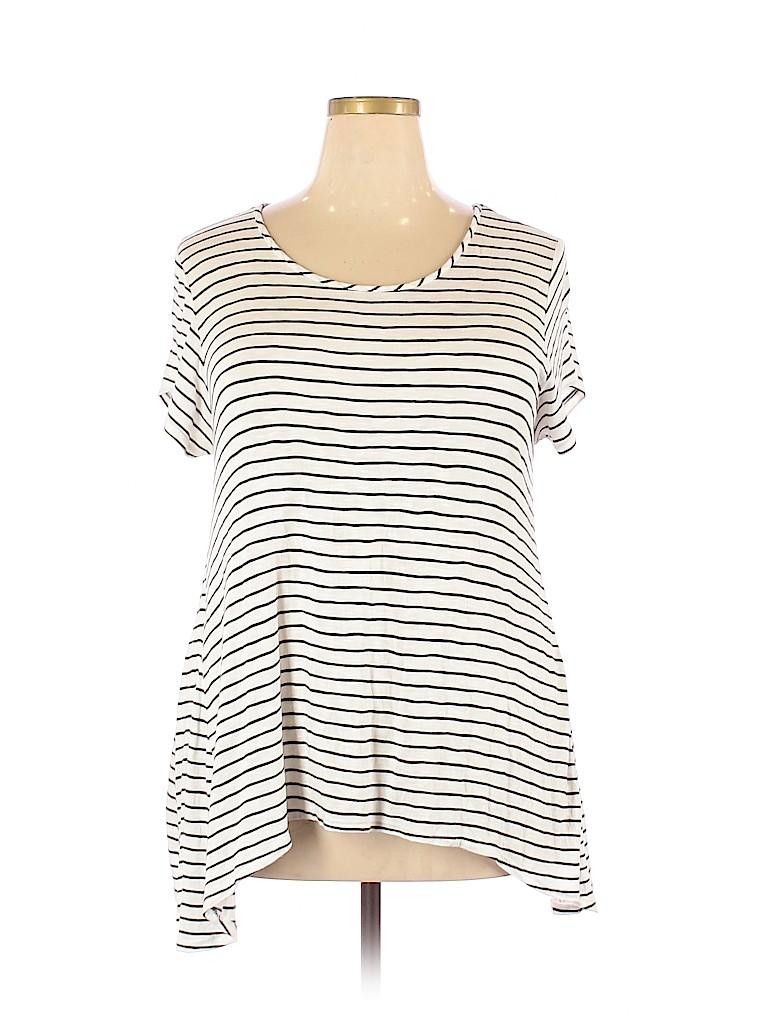 Mossimo Supply Co. Women Short Sleeve T-Shirt Size XXL