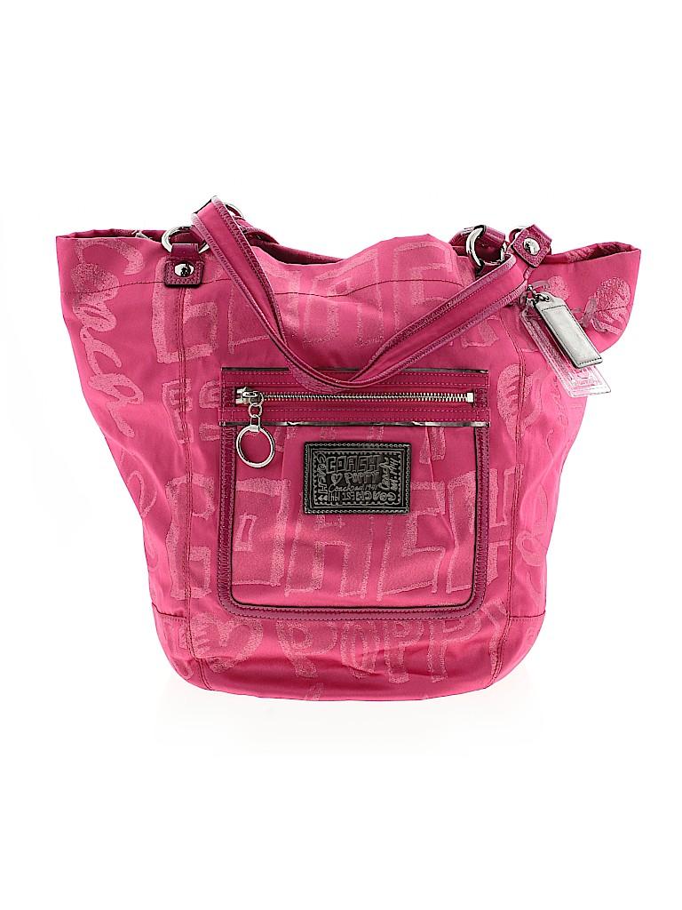 Coach Heart Poppy Women Shoulder Bag One Size