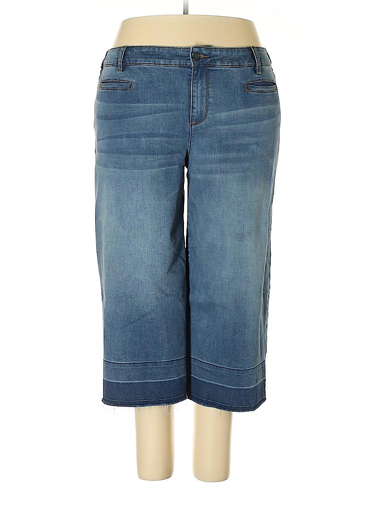Lands' End Women Jeans Size 20 (Plus)