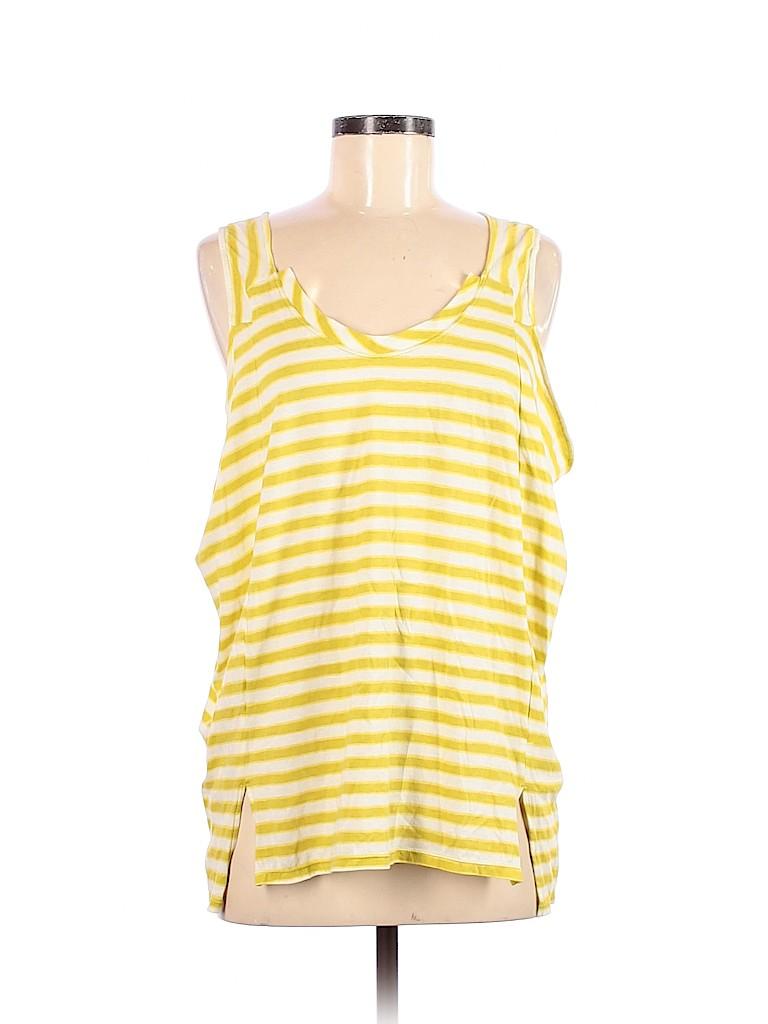 BCBGMAXAZRIA Women Sleeveless T-Shirt Size M