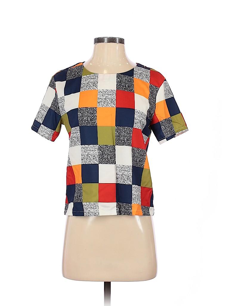 Assorted Brands Women Short Sleeve T-Shirt Size XS