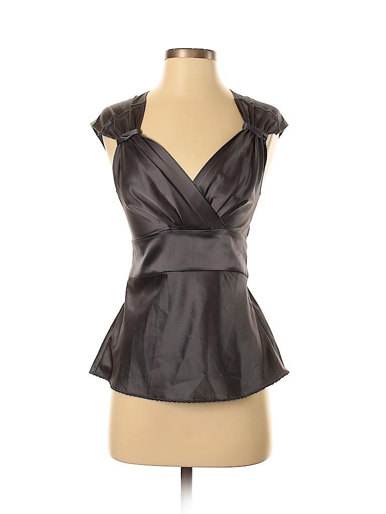 United Colors Of Benetton Women Short Sleeve Blouse Size XS