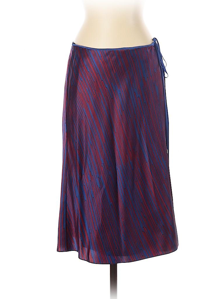 Diane von Furstenberg Women Silk Skirt Size 4