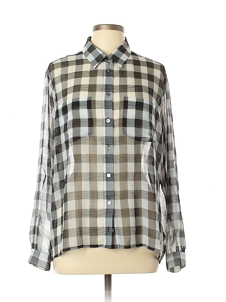 MICHAEL Michael Kors Women Long Sleeve Blouse Size 12