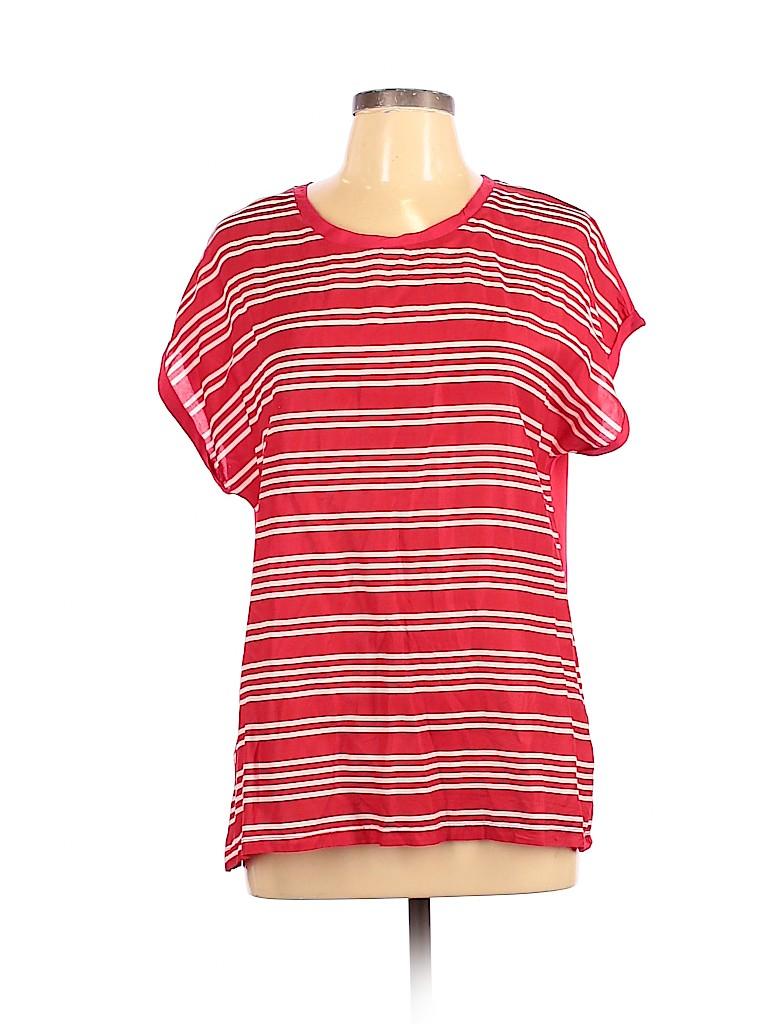 Charming Charlie Women Short Sleeve T-Shirt Size L