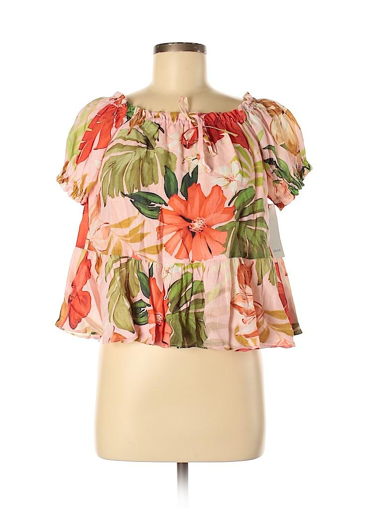 Zara Basic Women Short Sleeve Top Size XS