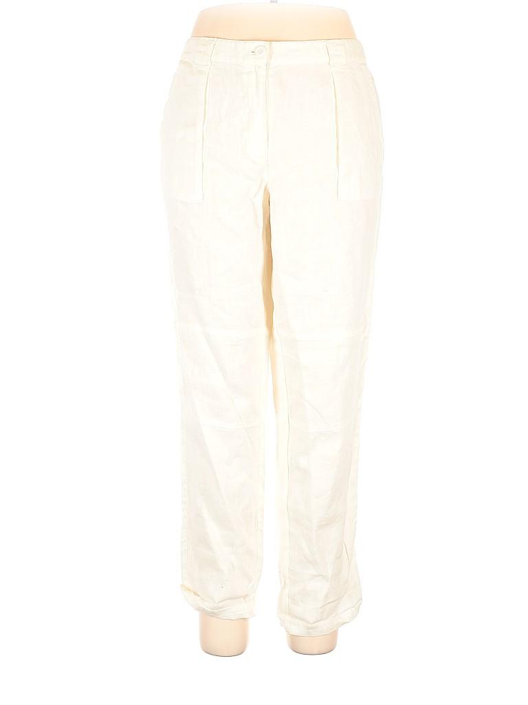 Ann Taylor LOFT Women Linen Pants Size 14