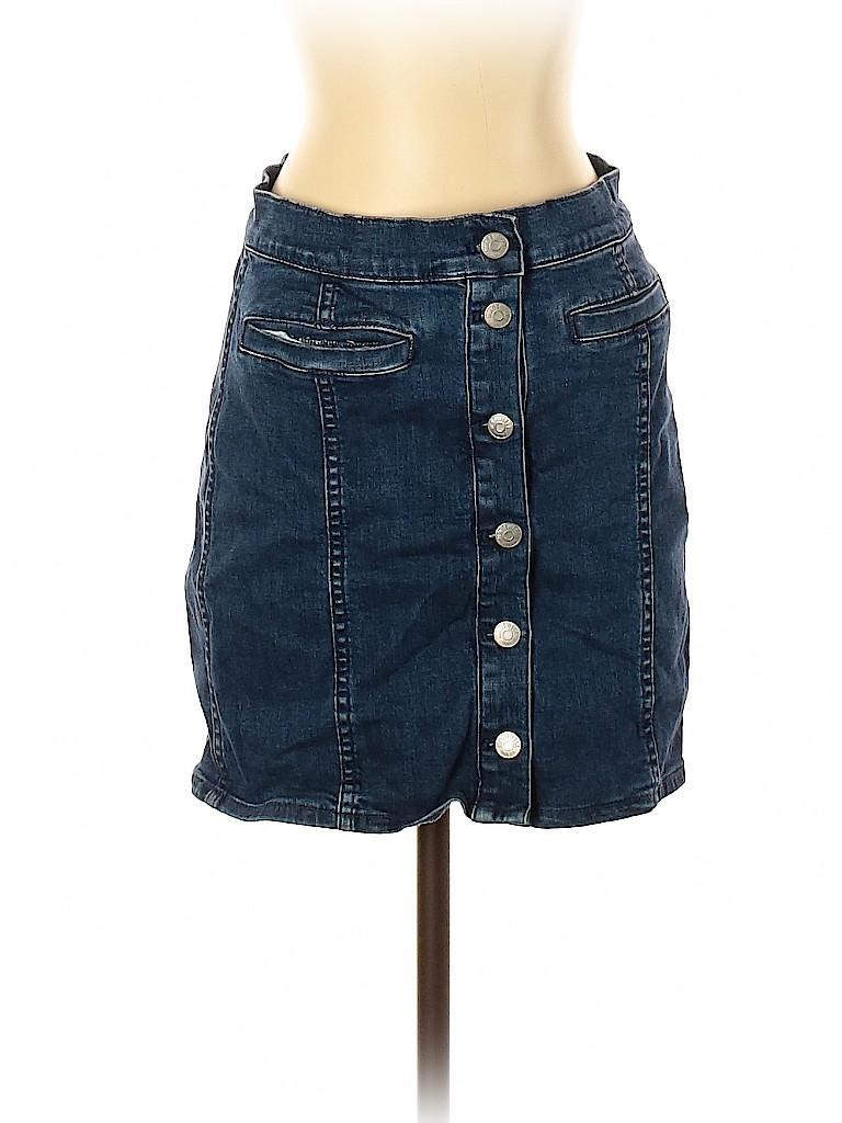 Madewell Women Denim Skirt 26 Waist