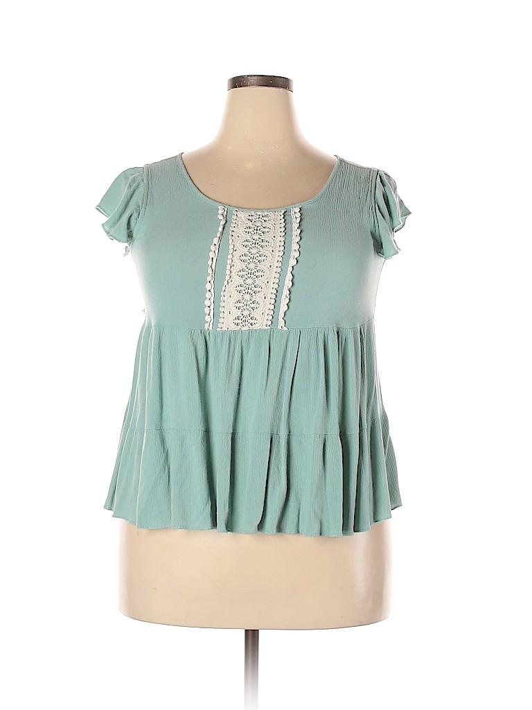 Assorted Brands Women Short Sleeve Blouse Size XXL