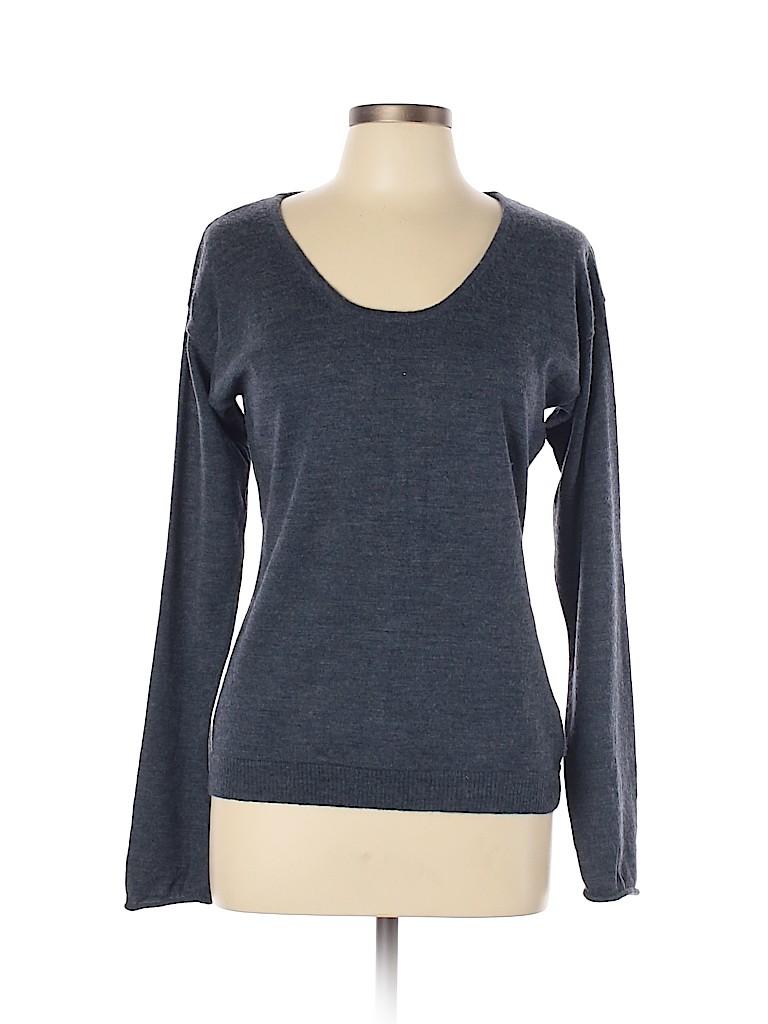 Garnet Hill Women Wool Pullover Sweater Size L