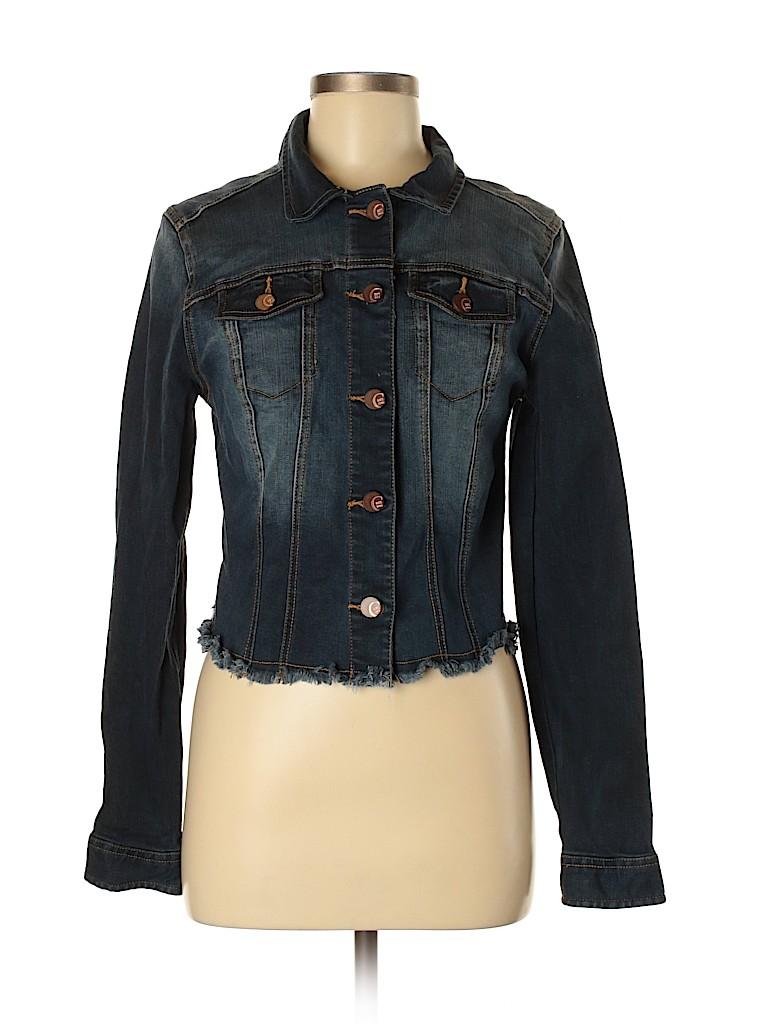 Charming Charlie Women Denim Jacket Size M