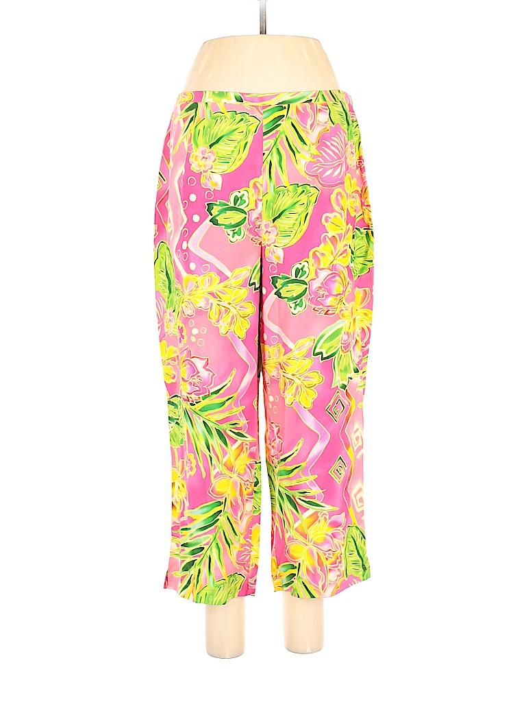 Nancy Bolen City Girl Women Silk Pants Size 14