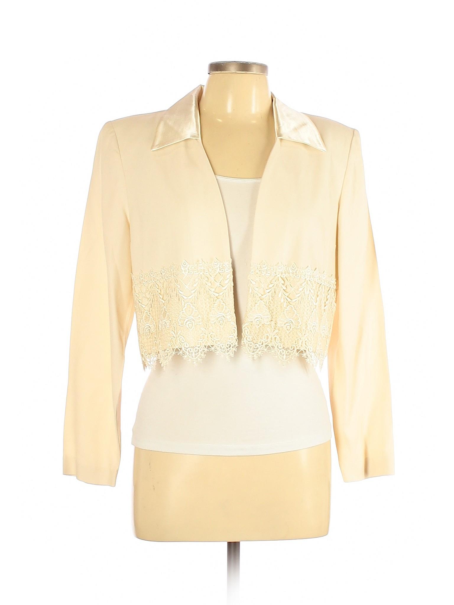 Download SL Fashions Women Ivory Blazer 10   eBay
