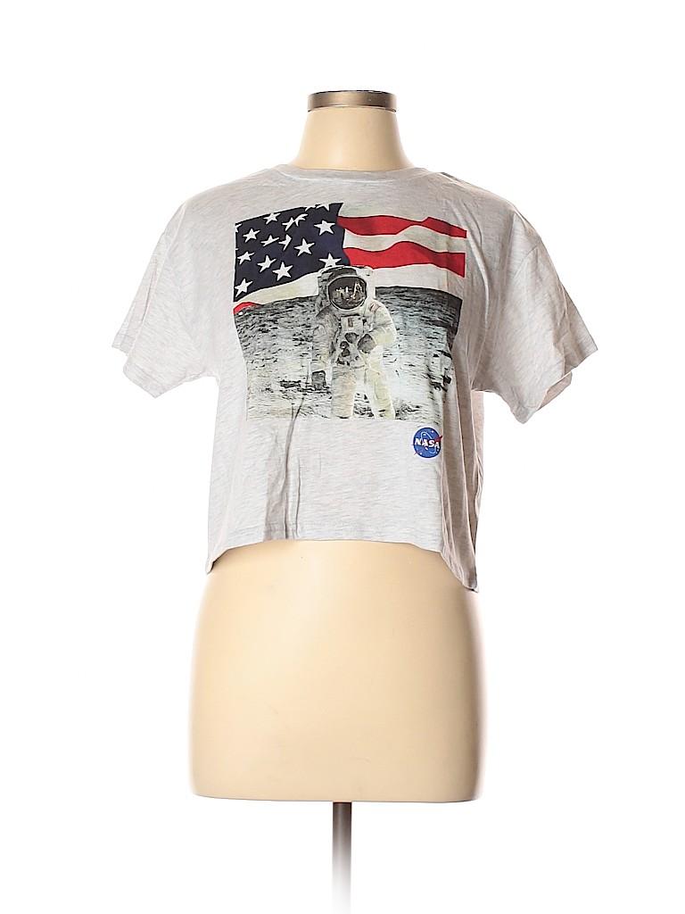 Freeze Women Short Sleeve T-Shirt Size L