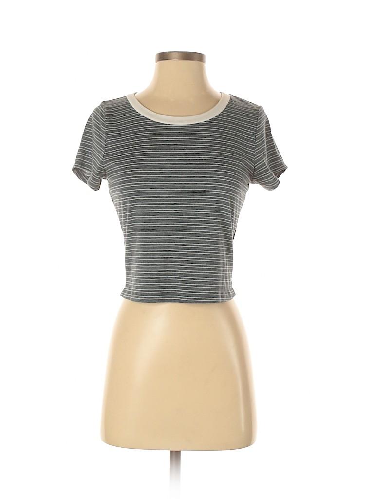 Charlotte Russe Women Short Sleeve T-Shirt Size S