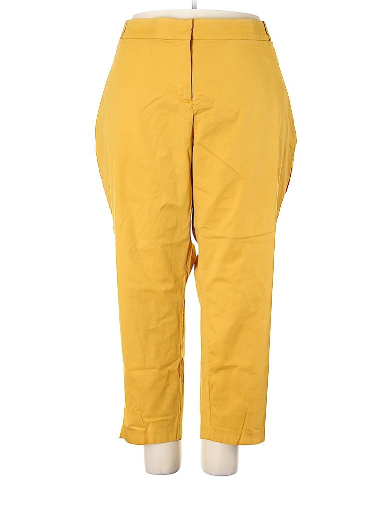 Lane Bryant Women Khakis Size 28 (Plus)