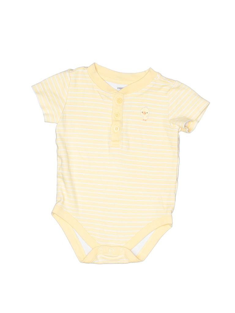Gymboree Boys Short Sleeve Onesie Size 3-6 mo