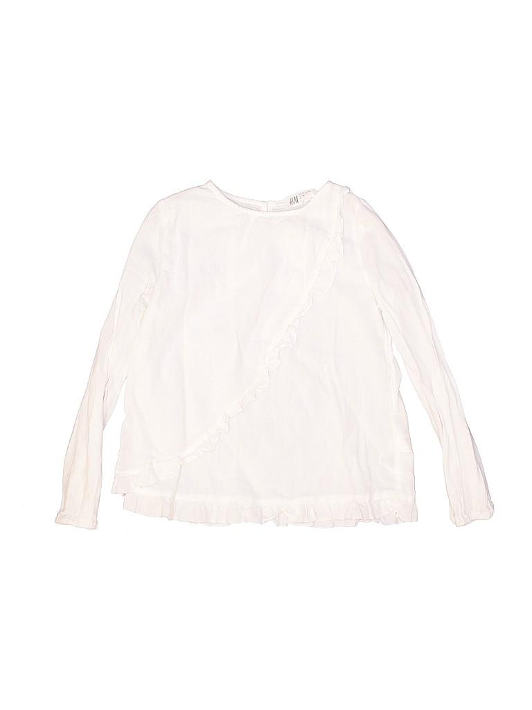 Gymboree Girls Long Sleeve Blouse Size 7 - 8