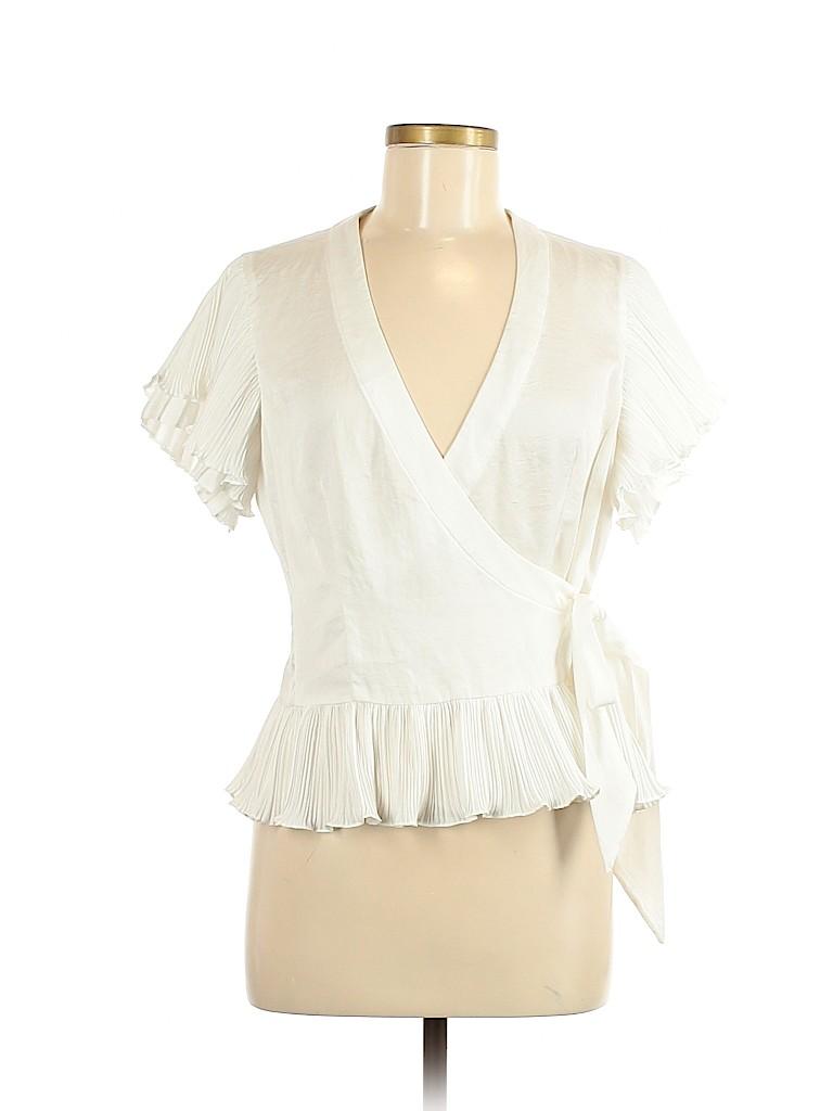 Nanette Lepore Women Short Sleeve Blouse Size 8