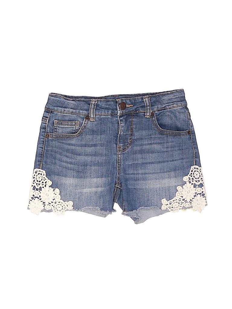 Cat & Jack Girls Denim Shorts Size L (Kids)