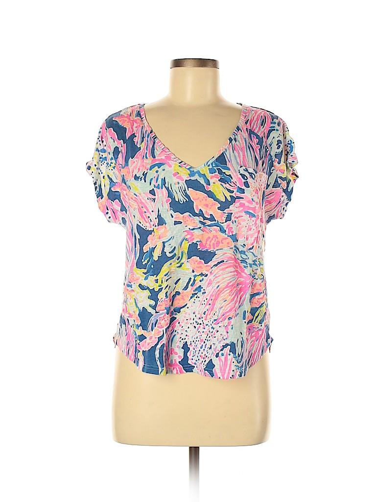 Lilly Pulitzer Women Short Sleeve T-Shirt Size M
