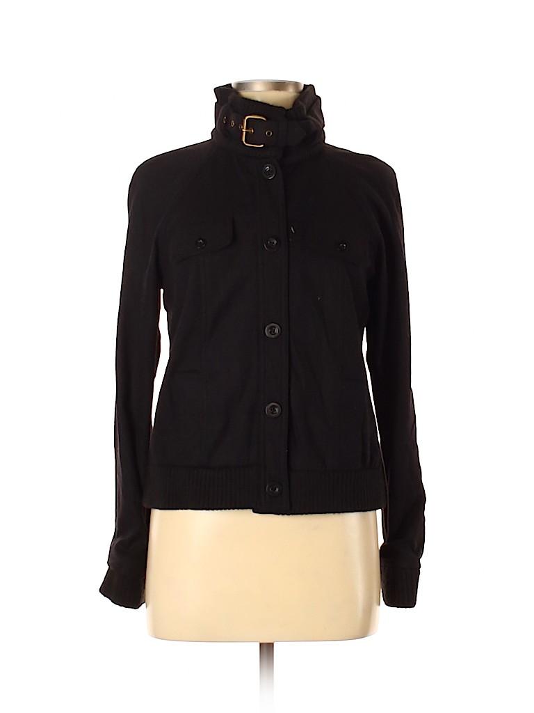 Body By Victoria Women Wool Coat Size 6