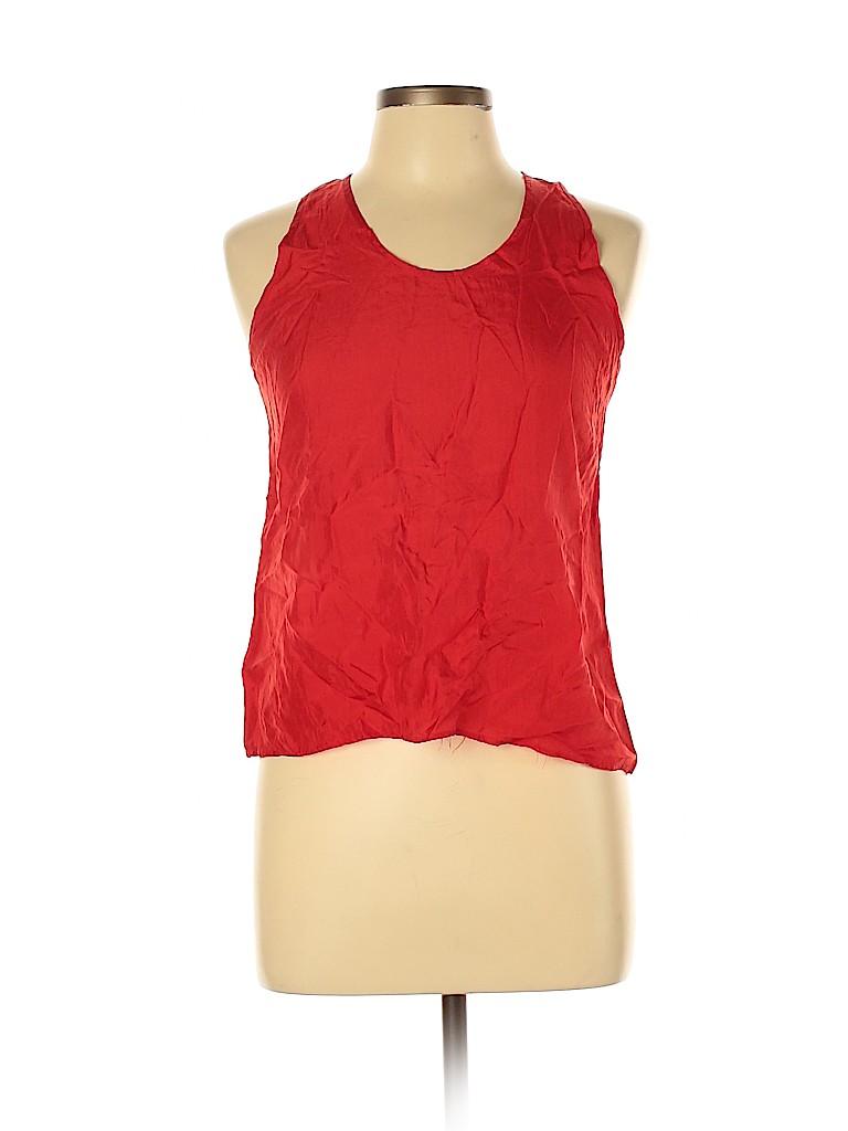 Assorted Brands Women Sleeveless Silk Top Size 10