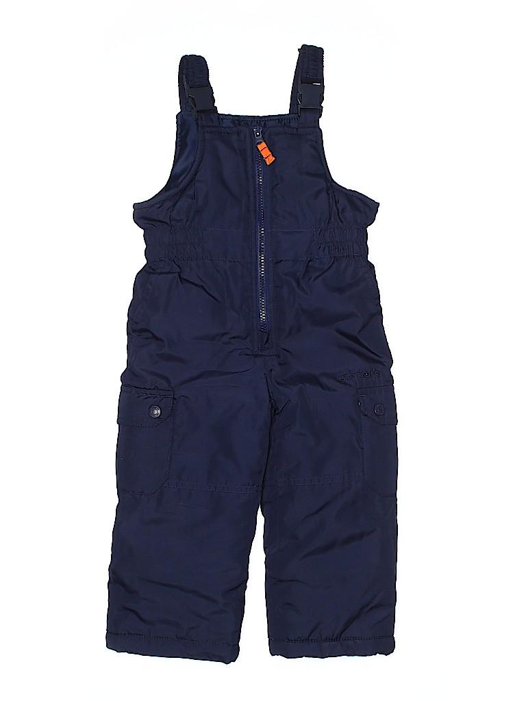 Carter's Boys Snow Pants With Bib Size 2T