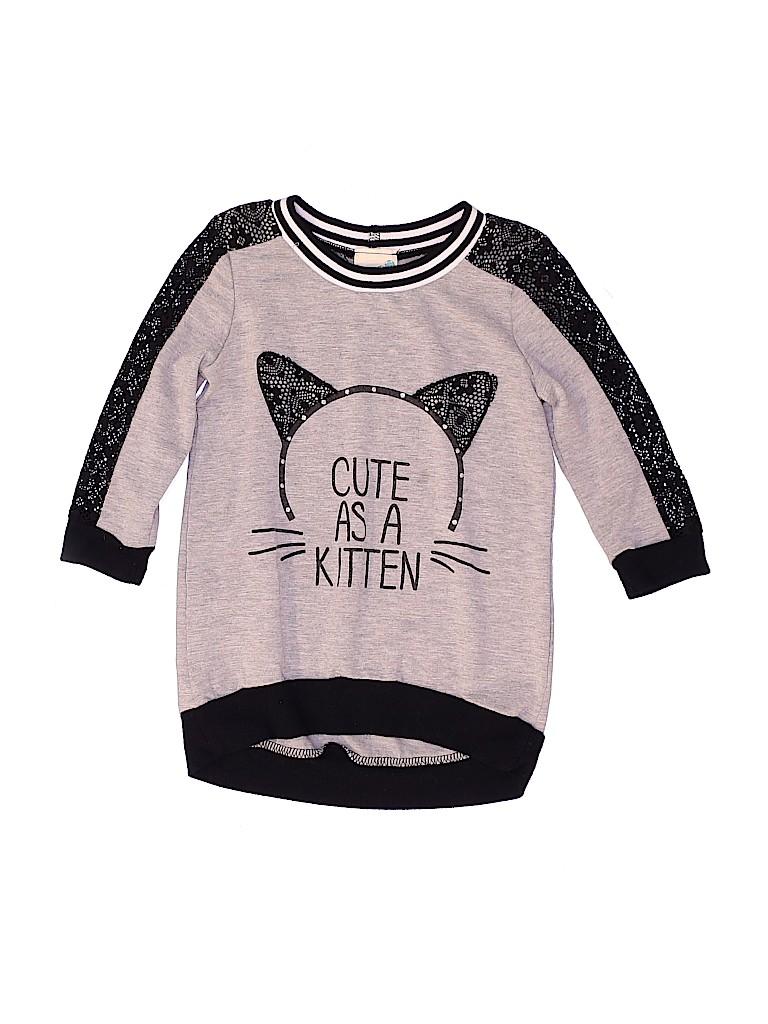Lily Bleu Girls Sweatshirt Size 4