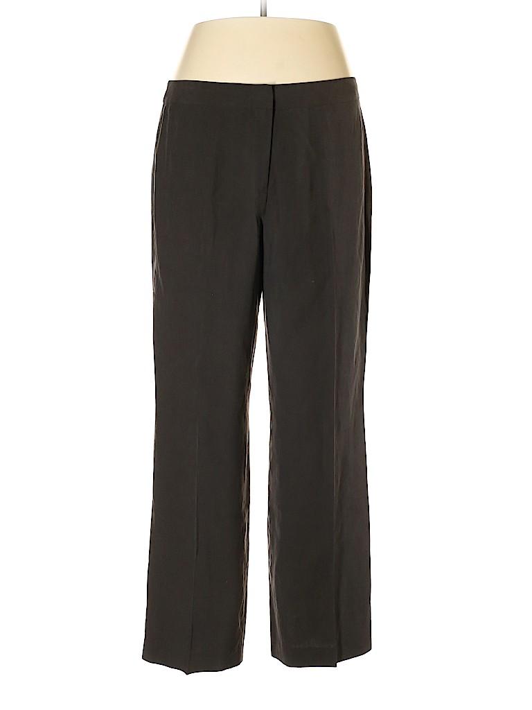 Jones New York Collection Women Silk Pants Size 16