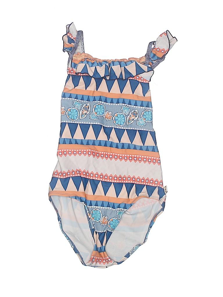 Floatimini Girls One Piece Swimsuit Size 6X