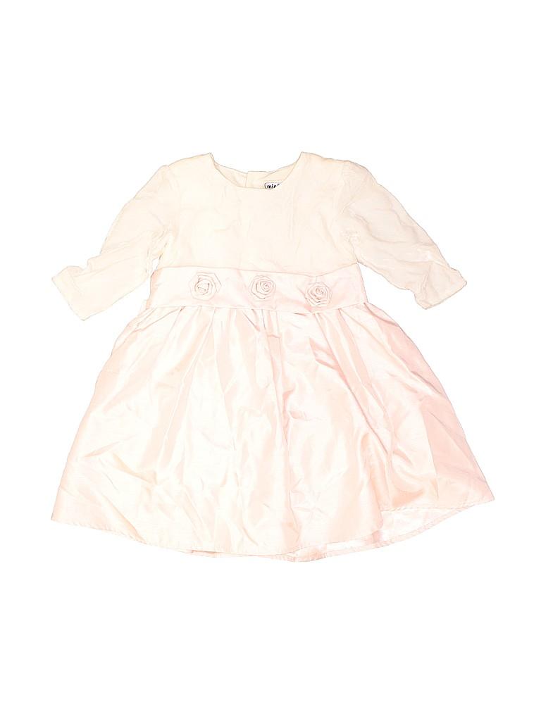 Mini Basix Girls Special Occasion Dress Size 18 mo