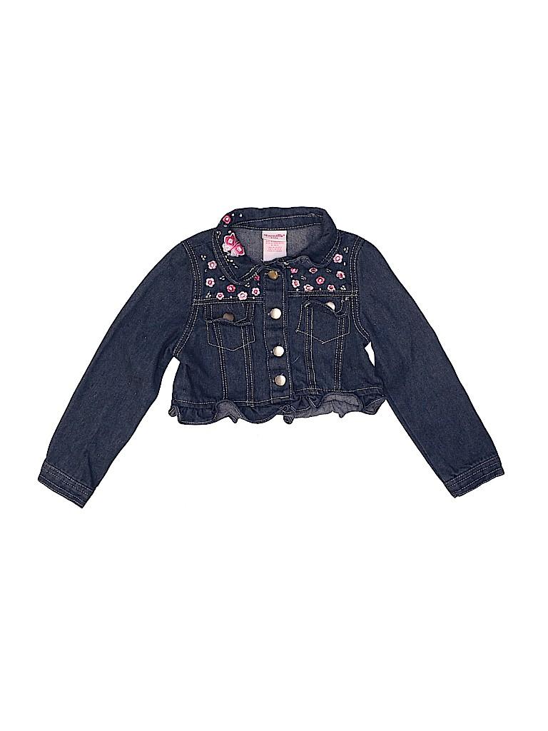 Nannette Girls Denim Jacket Size 6X