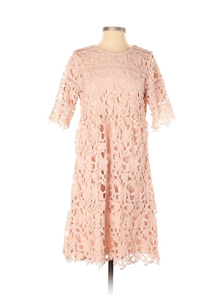 Orange Creek Women Casual Dress Size S