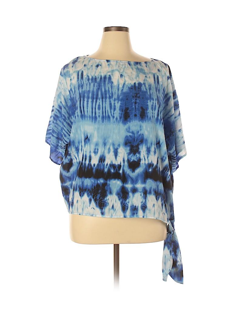 MICHAEL Michael Kors Women 3/4 Sleeve Blouse Size XL