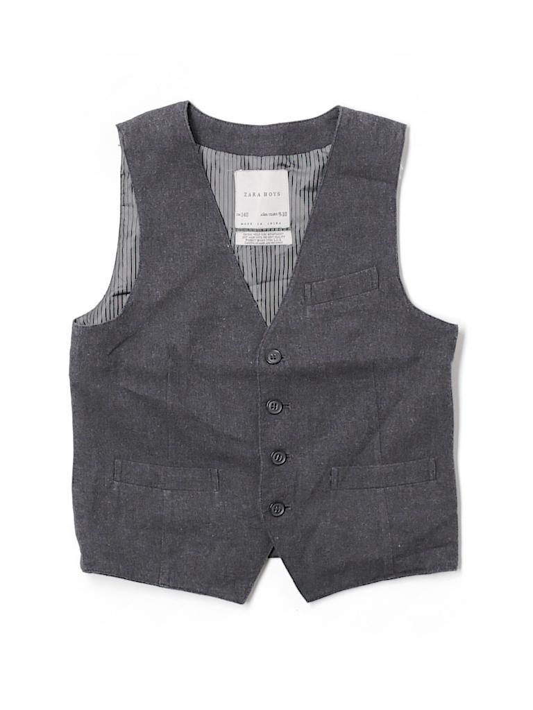 Zara Boys Tuxedo Vest Size 9/10