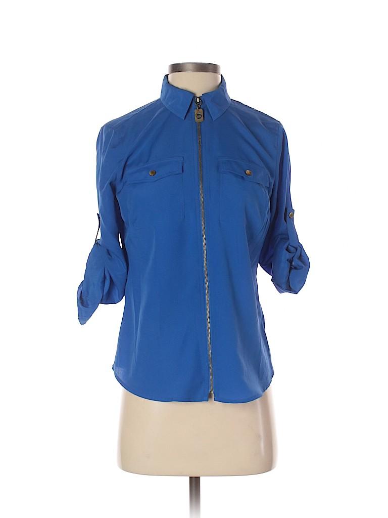 MICHAEL Michael Kors Women 3/4 Sleeve Blouse Size S