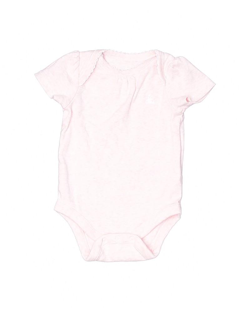 Baby Gap Girls Short Sleeve Onesie Size 0-3 mo