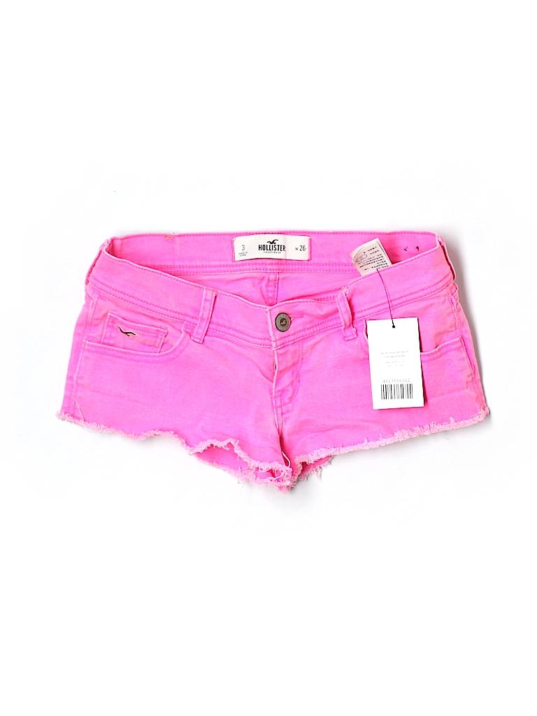 Hollister Women Denim Shorts Size 3