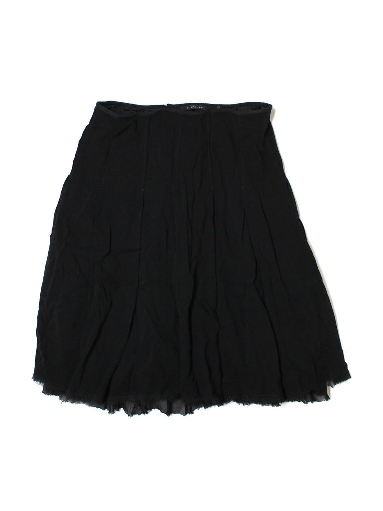 Elie Tahari Women Wool Skirt Size 10