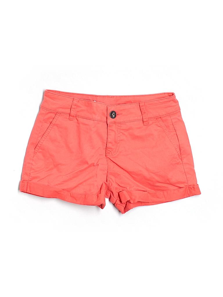 Stile Benetton Women Khaki Shorts Size 38 (EU)