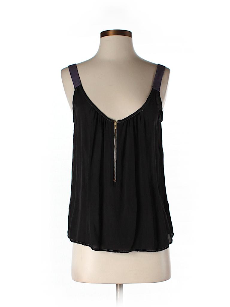 A.L.C. Women Sleeveless Silk Top Size S