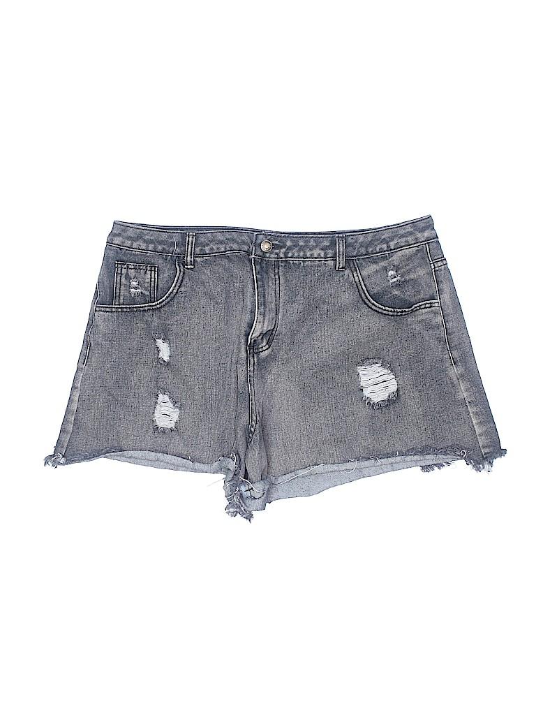 Unbranded Women Denim Shorts Size 3X (Plus)