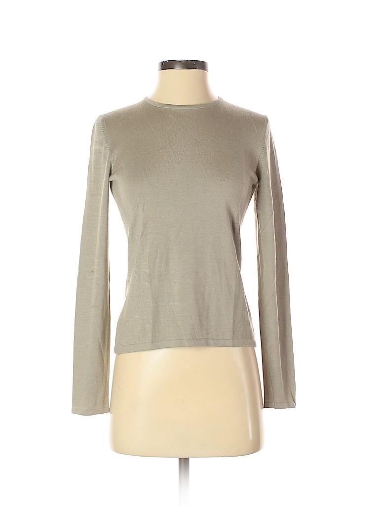 Oscar De La Renta Women Cashmere Pullover Sweater Size S