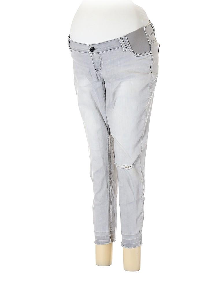 Indigo Blue Women Jeans Size 7 (Maternity)