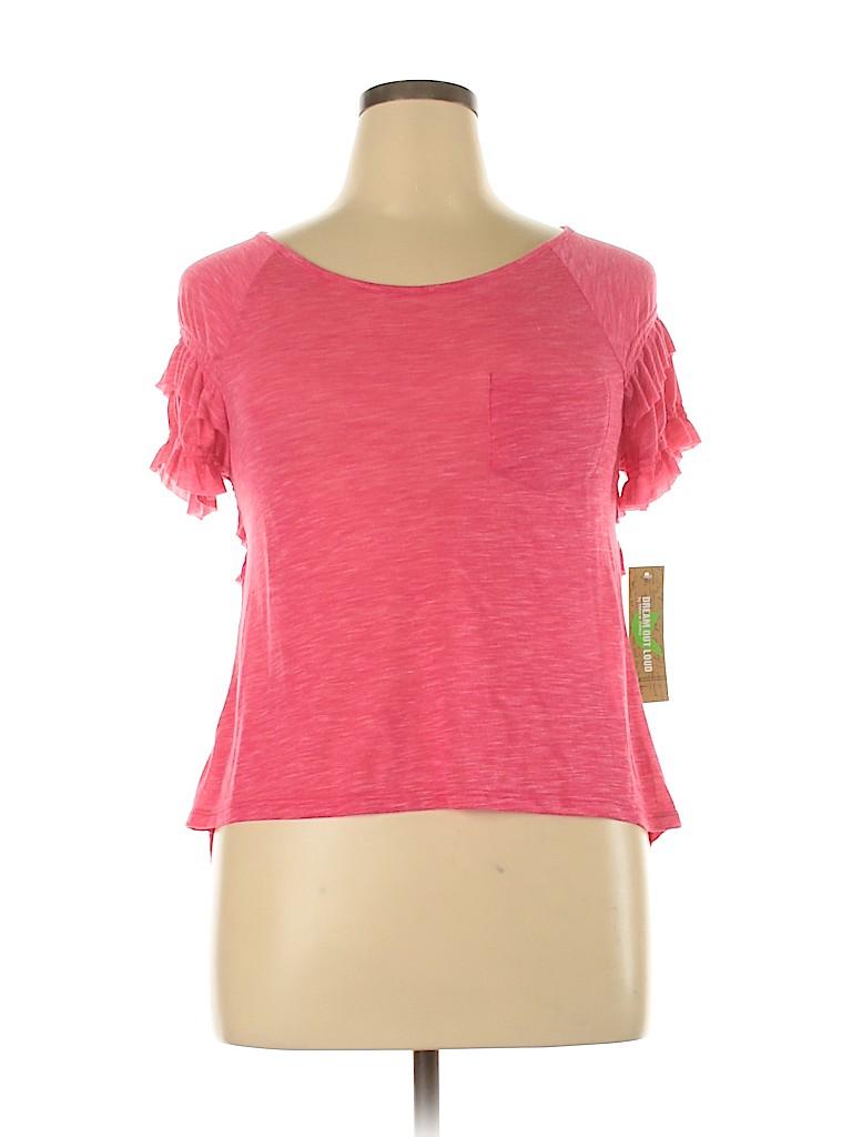 Dream Out Loud by Selena Gomez Women Short Sleeve Top Size XL